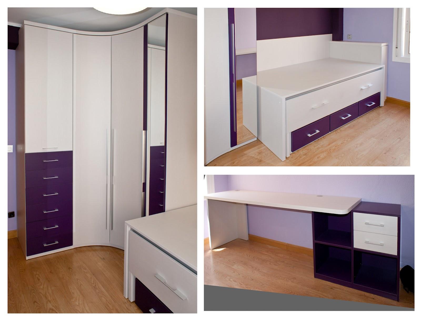 Blog de muebles soluciones zaragoza - Armarios con cama incorporada ...