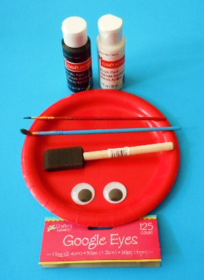 google eyes (optional) or white paint or 2 small white paper circles + glue. Directions. If your paper plate ...  sc 1 st  Learning Ideas - Grades K-8 - Blogger & Learning Ideas - Grades K-8: Ladybug Paper Plate Craft