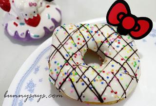 White Hello Kitty donut