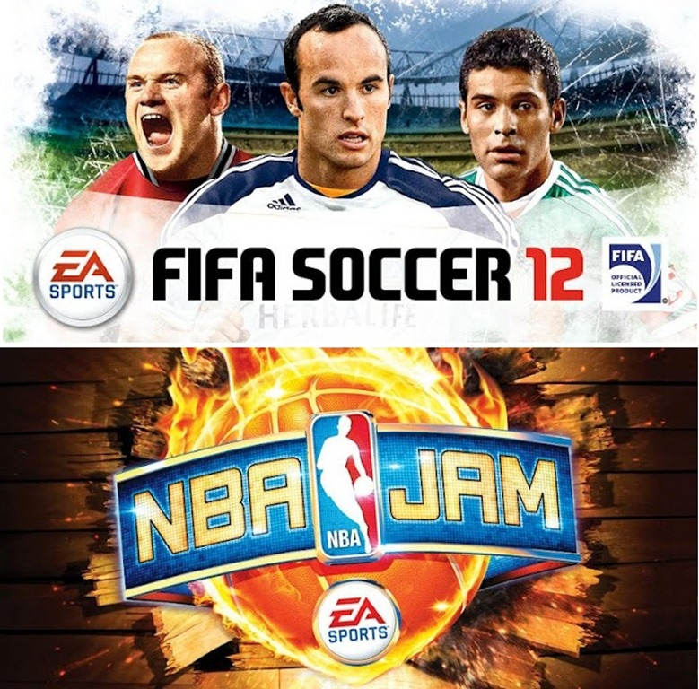 FIFA 12 and NBA Jam For Android