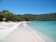 . from the crystalclear Caribbean waters encompassing the U.S. island. (magens bay st thomas photo )