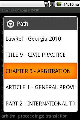 Georgia Law Ref apk