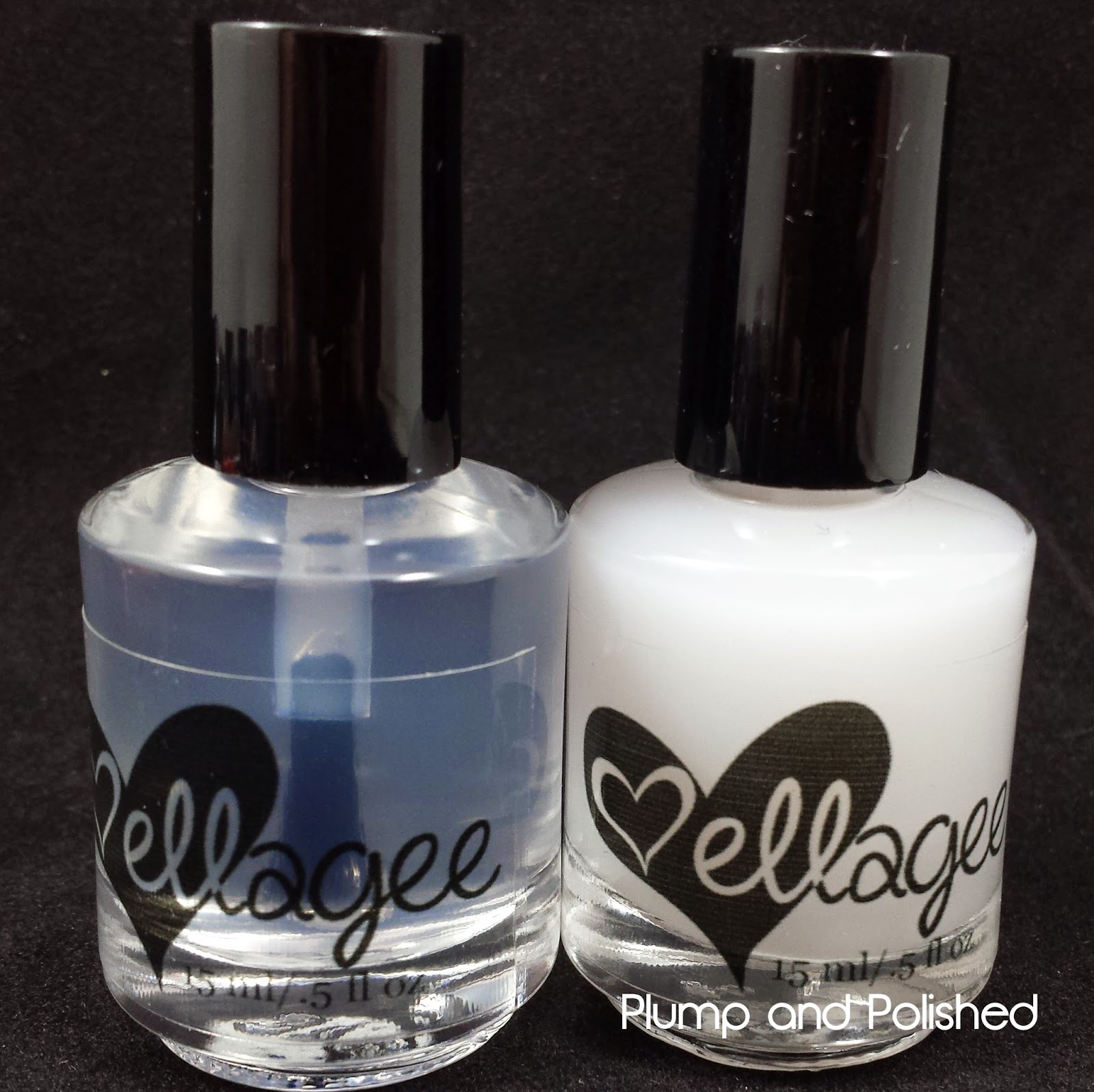 Ellagee - Glass and Velvet Top Coat