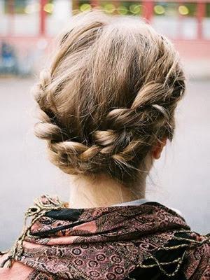 peinados con trenzas 2014