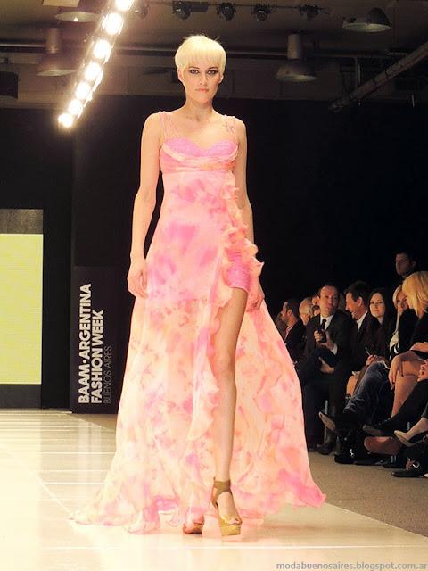 Claudio Cosano 2014 vestidos 2014 de fiesta.