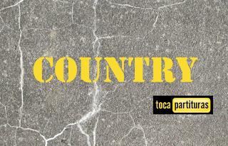 Country Partitura de Batería fácil para principiantes Country Sheet Music for Battery and Drums