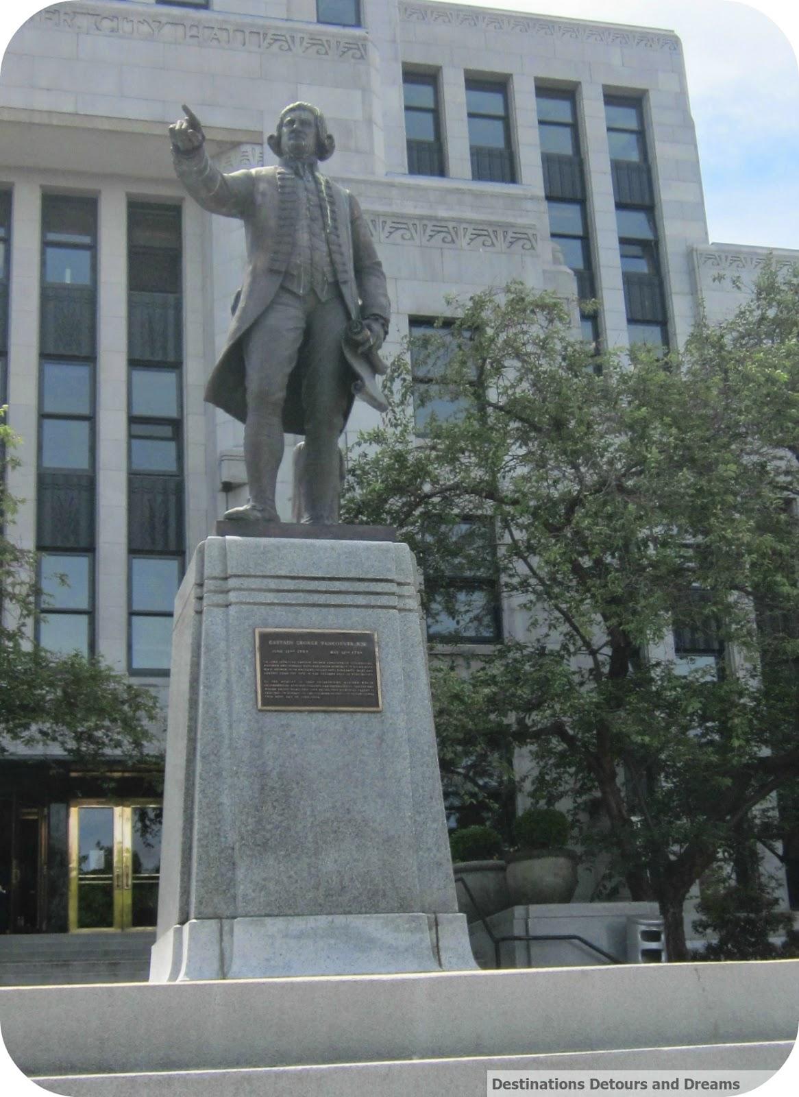 Captain George Vancouver Statue