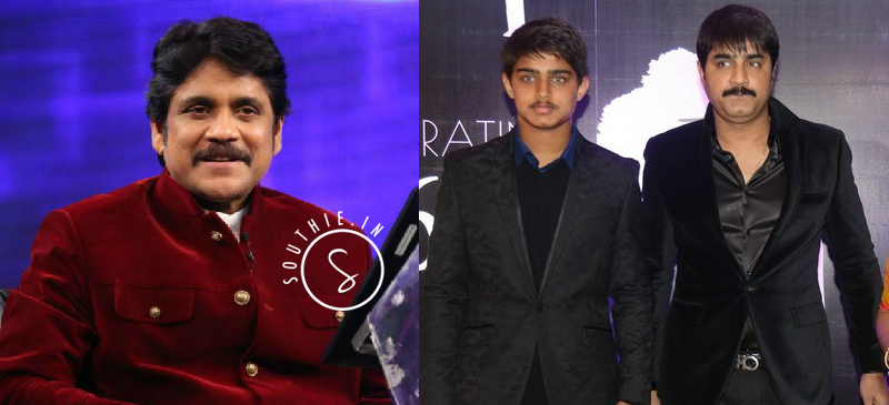 Nagarjuna to play a cameo in Srikanth's son Roshan debut movie. Roshan, Srikanth, Nagarjuna