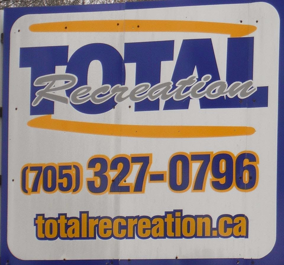 Total Recreation Snowmobile salvage yard