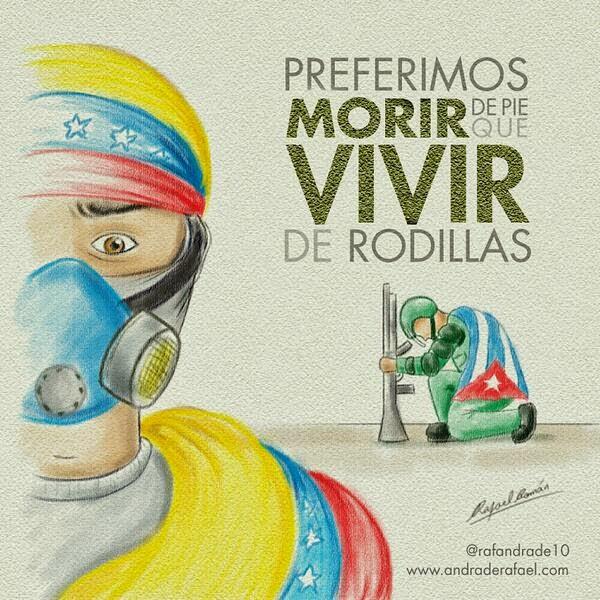 PREFERIMOS MORIR DE PIE QUE VIVIR DE RODILLAS