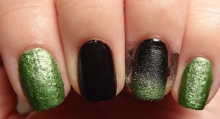 Green Gradient Nail