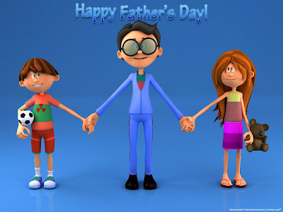 Happy Fathers Day Free HD Wallpaper
