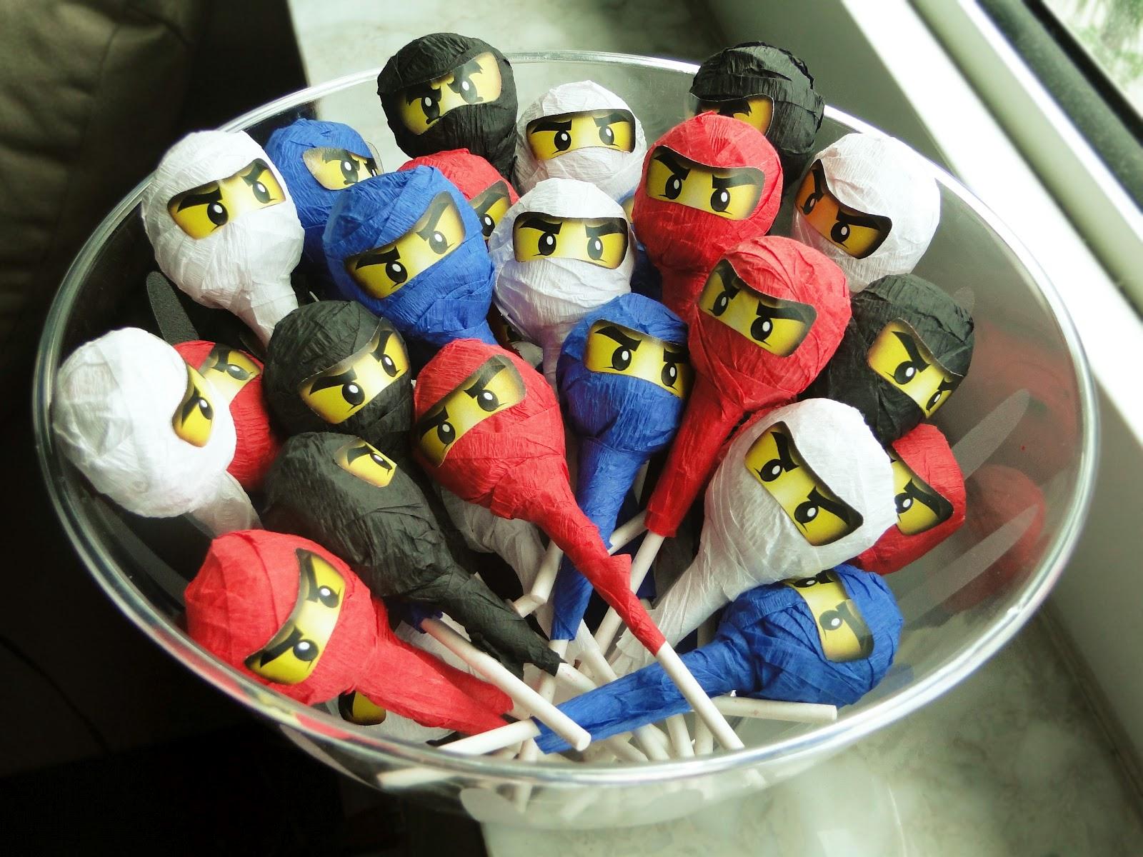 The Isoms Ninjago Birthday Party