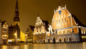 House of Blackheads in Riga, Latvia, fastest broadband, www.tunliweb.no
