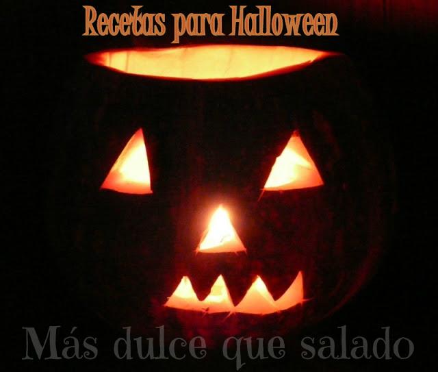 Mis recetas de Halloween