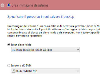 immagine di sistema windows 8