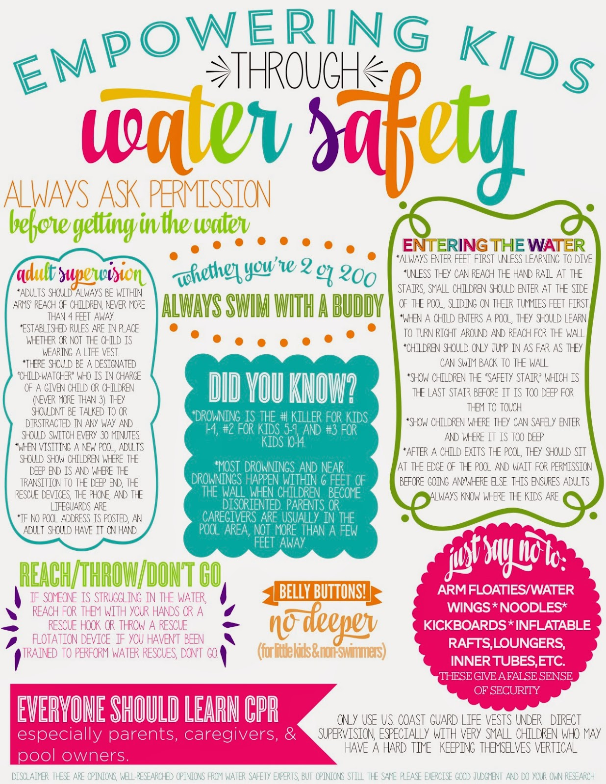 Life Quotes Kids The Kellys Water Safety Empowering Tips