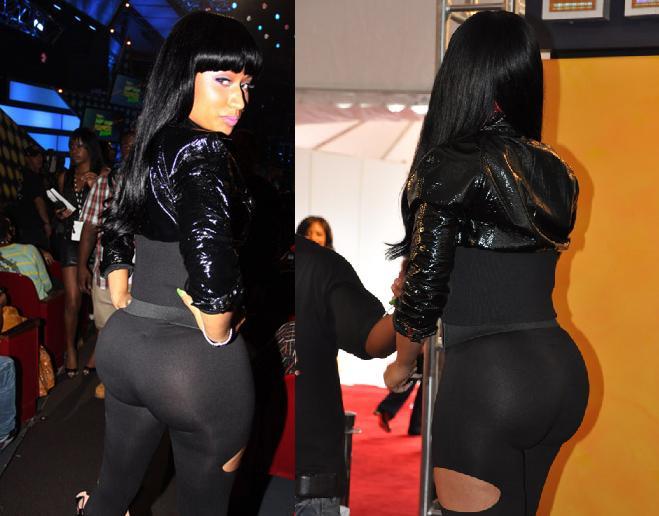 ass before minaj Nicki