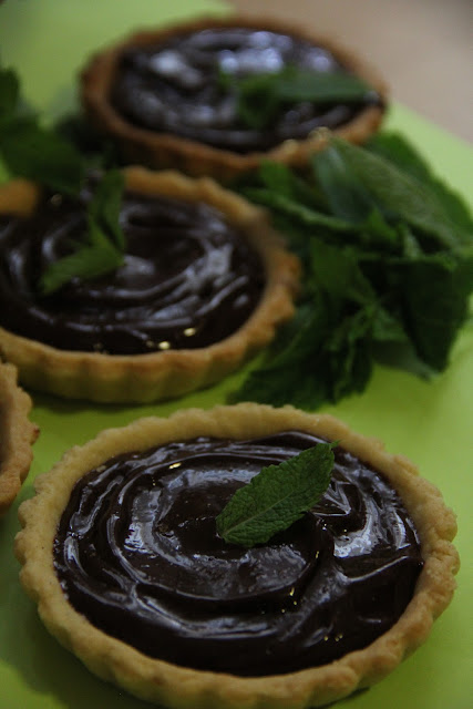 mbakes: Miette Chocolate Truffle Tart and Tartlets