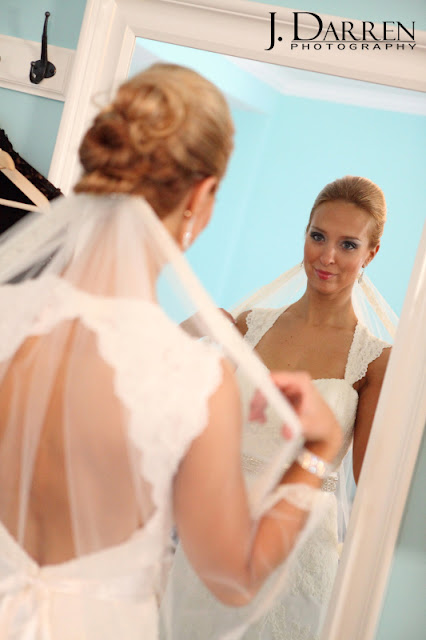 photo of the Bride getting ready at Twelve West Main