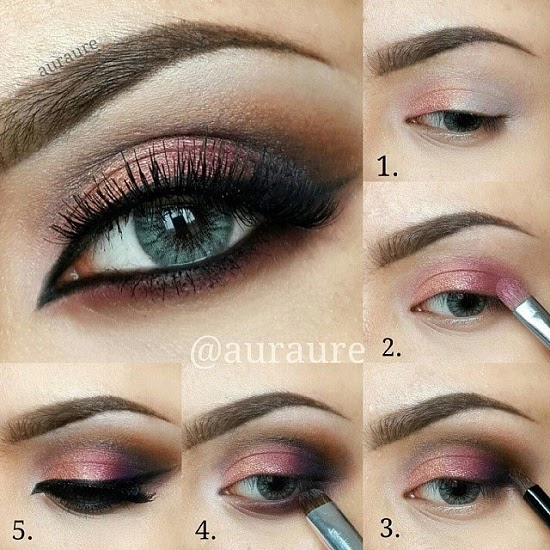 Best Quick and Easy Eye Make up Tutorial pics for girls ...