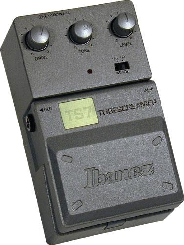 Guitar FX Layouts: Ibanez TS7 Tubescreamer