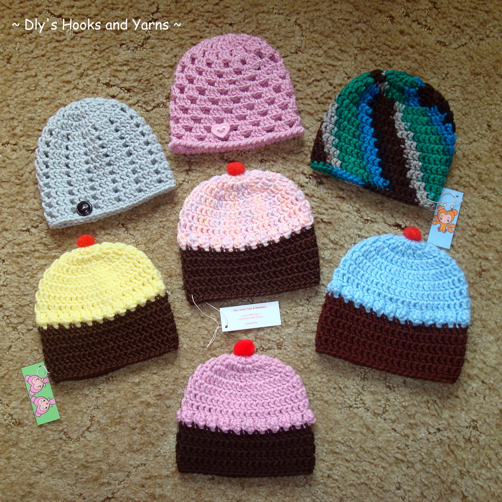 Easy Crochet Animal Hat Patterns : Made in K-town: January 2013