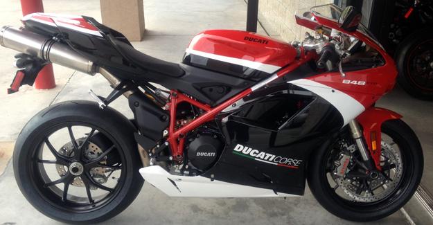 2012 Ducati 848 EVO Corse SE In Stock Now!!!