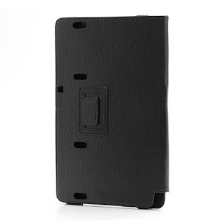 Leather Stand Case Cover for Samsung XE700T1C ATIV Smart PC 11.6-inch Win 8 - Black