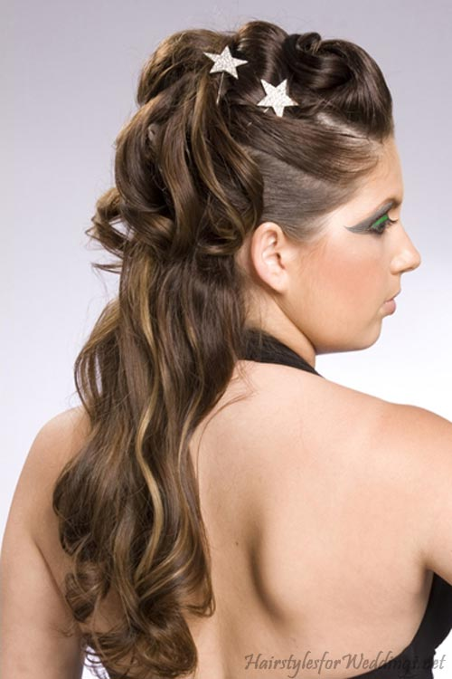 Prom Updo Hairstyles for Long Hair