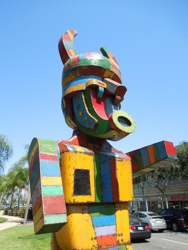 Pretty Boy sculpture David Buckingham West Hollywood