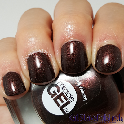 Sally Hansen Miracle Gel Winter 2015 - Spice Age | Kat Stays Polished