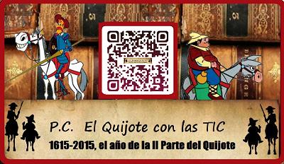 Proyecto Colaborativo el Quijote y Cervantes con las TIC