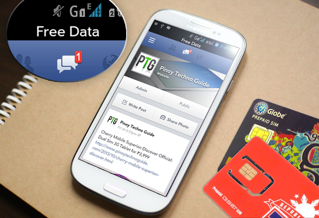How to Use Facebook For Free Using Globe or TM