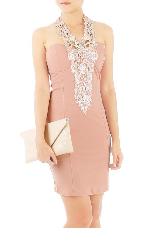 Elfin Crochet Lace Dress
