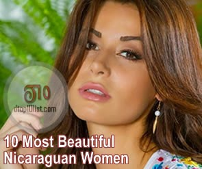 Top 10 Most Beautiful Nicaraguan Women