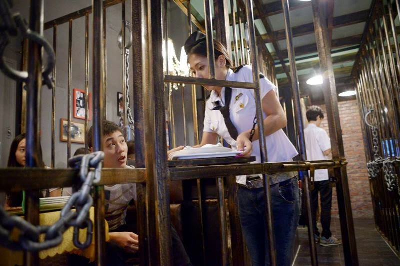 789 A Jail Cell Themed Restaurant in China, a very popular variety of themed restaurants. Probably for this reason, in the Chinese city of Tianjin was opened restaurant in prison style.