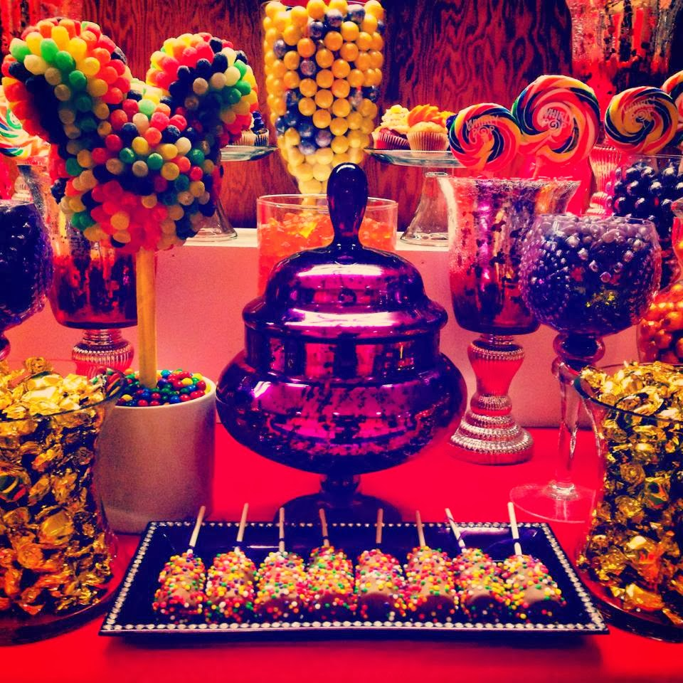 Mickey Mouse Clubhouse Theme Disney Birthday Party Candy Buffet ...