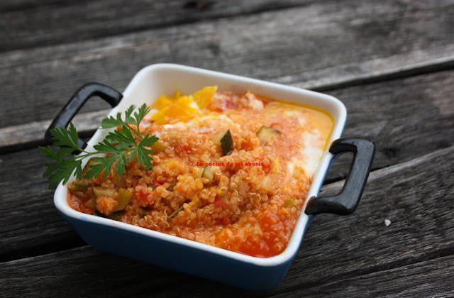 Quinoa con verduras y huevo for Cocina quinoa con verduras