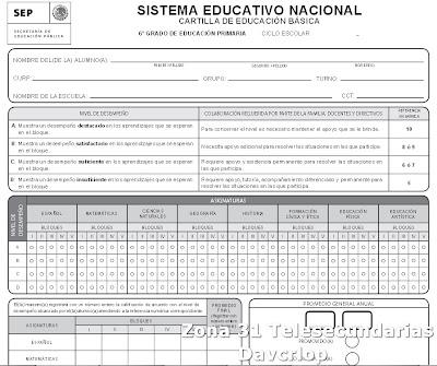 Supervisión Escolar Papantla: CARTILLA DE EDUCACIÓN BÁSICA ...