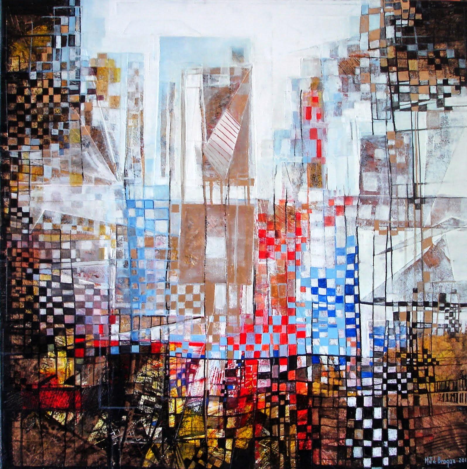 Conscience 1 - 80 x 80 cm - 2014