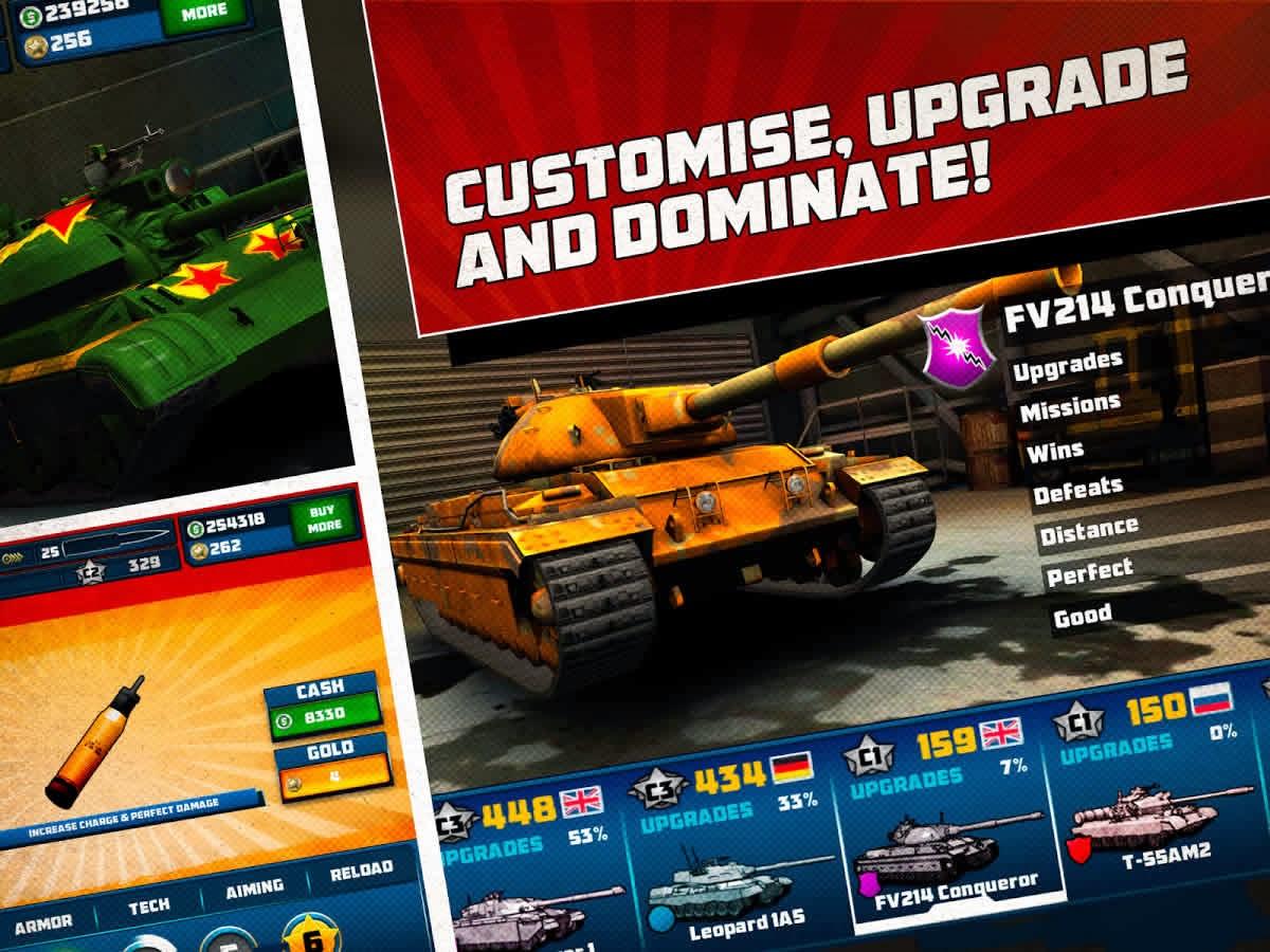 Boom! Tanks v1.0.33 Android Hile MOD APK indir