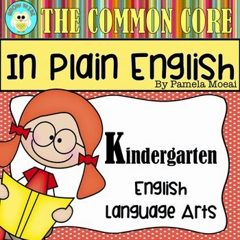 ELA CC Resource - Kinder