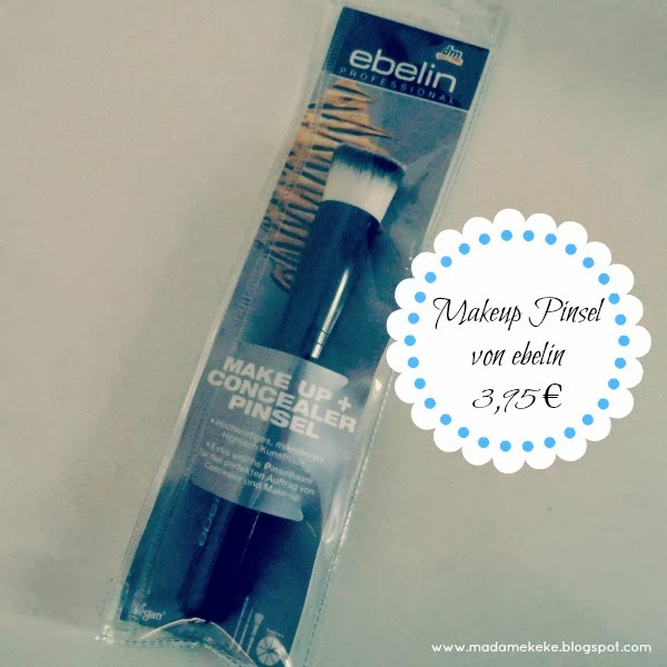 dm Lieblinge Box Mai 2013 - ebelin Makeup & Concealer Pinsel