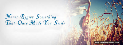 Smile Quotes - Never Regret Something That Once Made You Smile