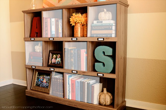 One Bookshelf Styled Three Ways