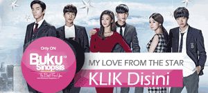 "DRAMA KOREA ""MY LOVE FROM THE STAR"""