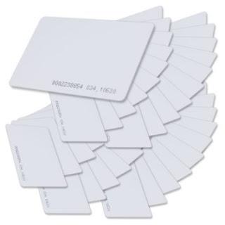 Thẻ cảm ứng Proximity 125khz mỏng