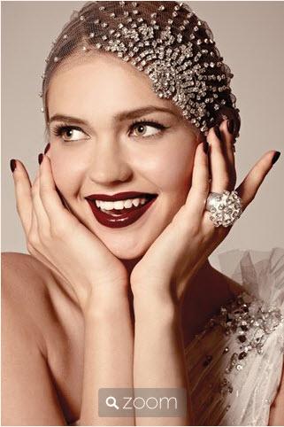 Bridal Hair Accessories RED CARPET SHEARS