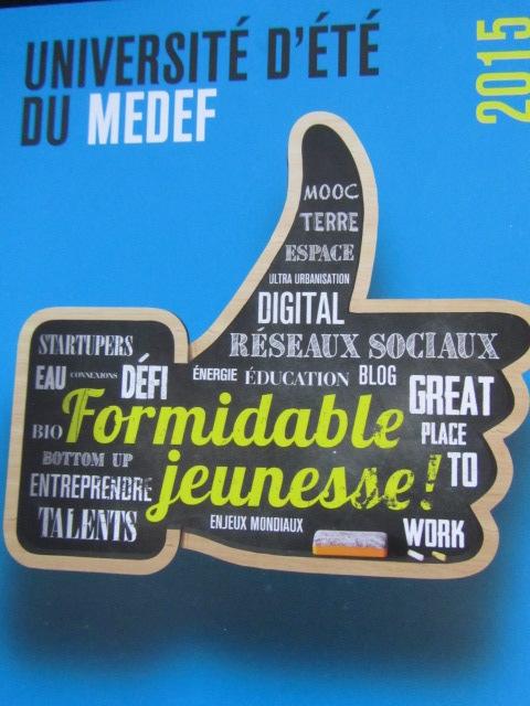 *Université d'été du MEDEF 2015*